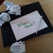 tie tips om met een writer's block om te gaan