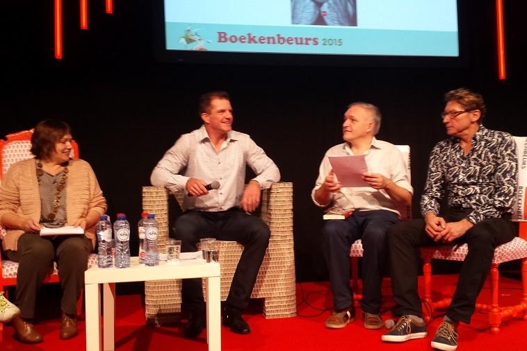 Boekpresentatie Peter Dombret - Boekenbeurs Antwerpen