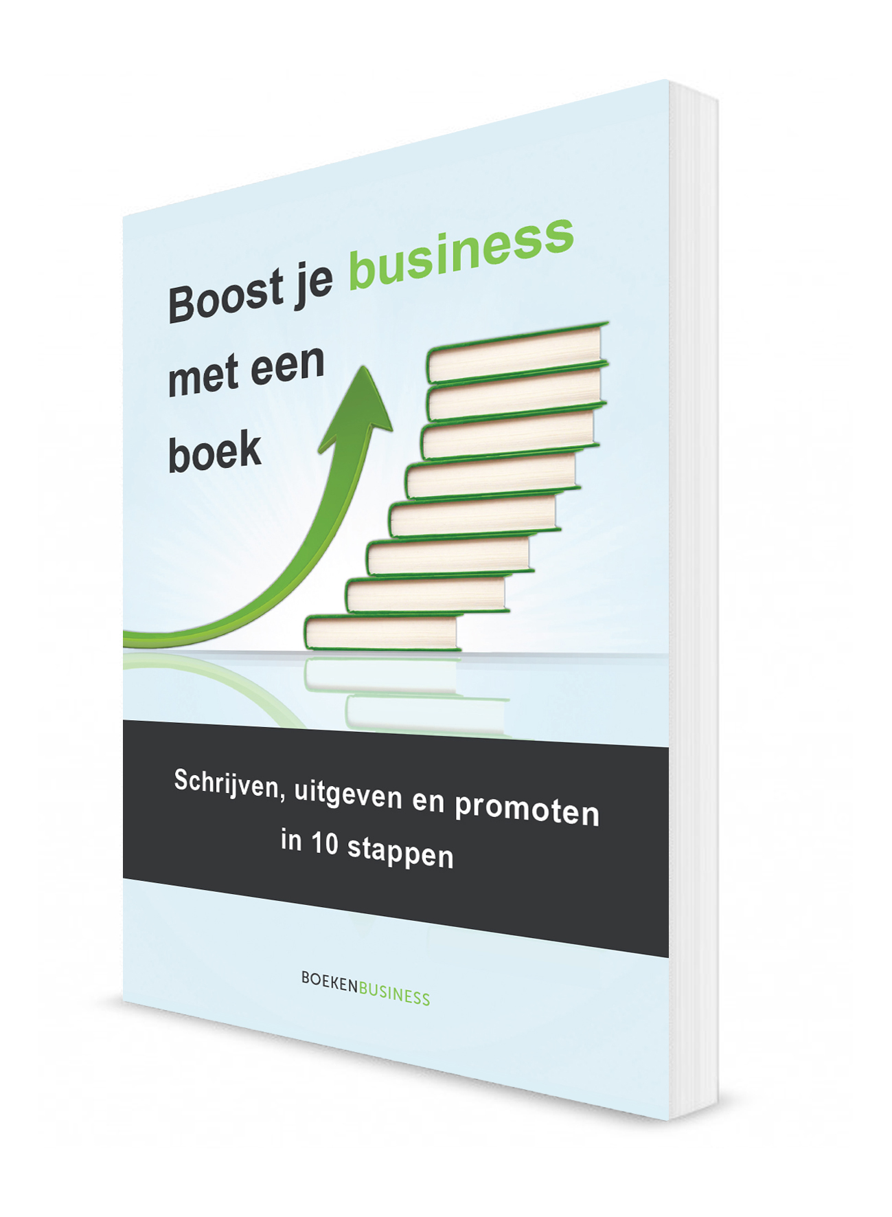 Boost je business met een boek - 3D cover