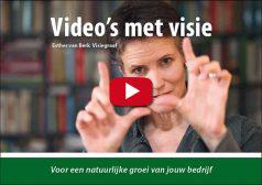 Cover boek Video's met visie - Esther van Berk