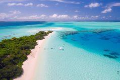 tropisch strand - reisboeken