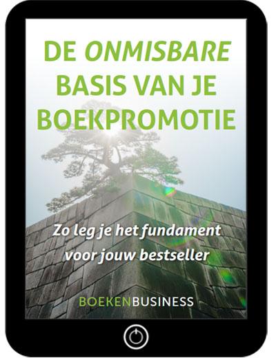 e-book De onmisbare basis van je boekpromotie