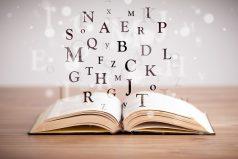 boek tussenkoppen letters schrijven