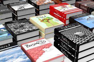 boekhandel non-fictie boeken presentatie
