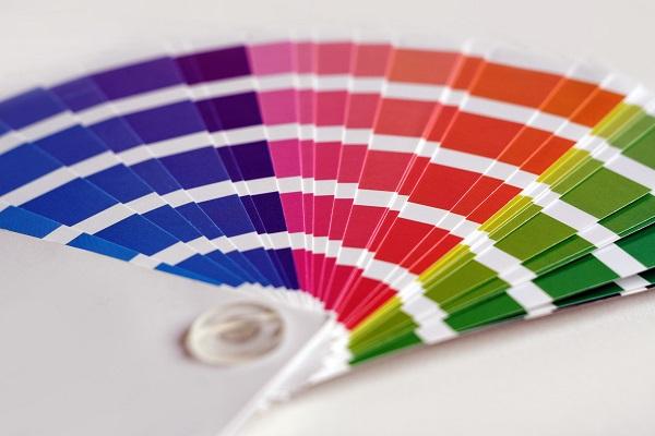 Drukkerstermen - kleurenwaaier