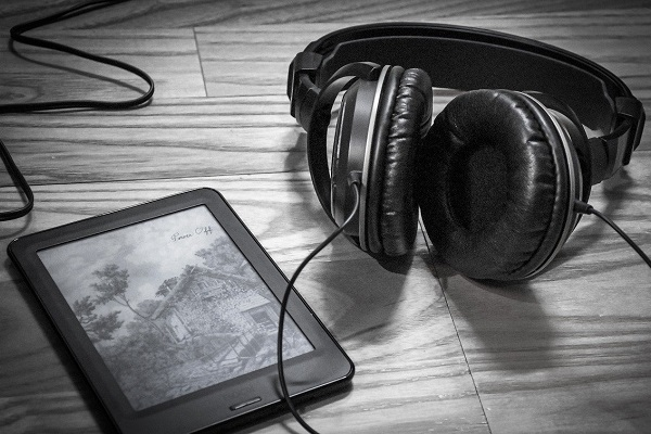 luisterbook - koptelefoon - ebook